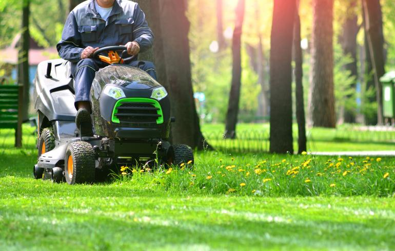 main of he Many Types of Lawn Mowers Are Suited To Different Lawns