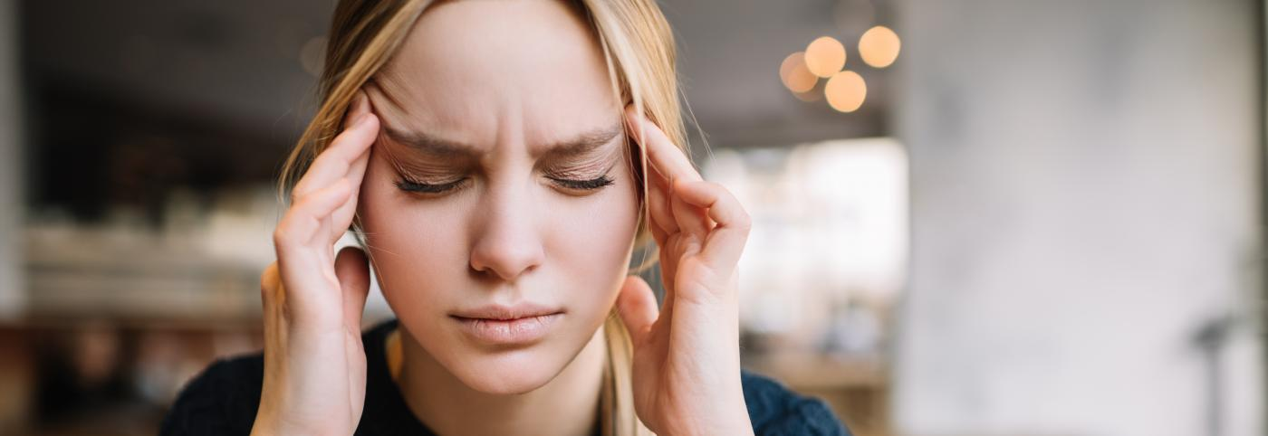 banner of Migraines Range In Severity But Are Never Pleasant